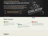 Scholarship pg