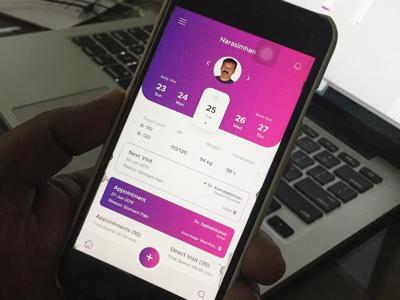 Health Care Hybrid App