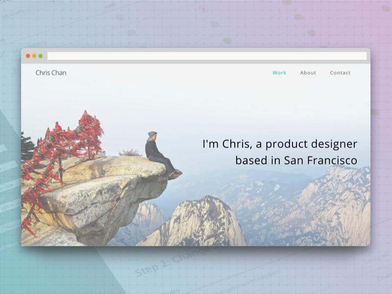 Portfolio site portfolio