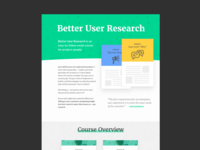 Better User Research