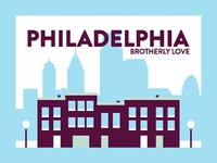 Philadelphia Post Card