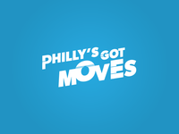 Philly's Got Moves Logo Concept