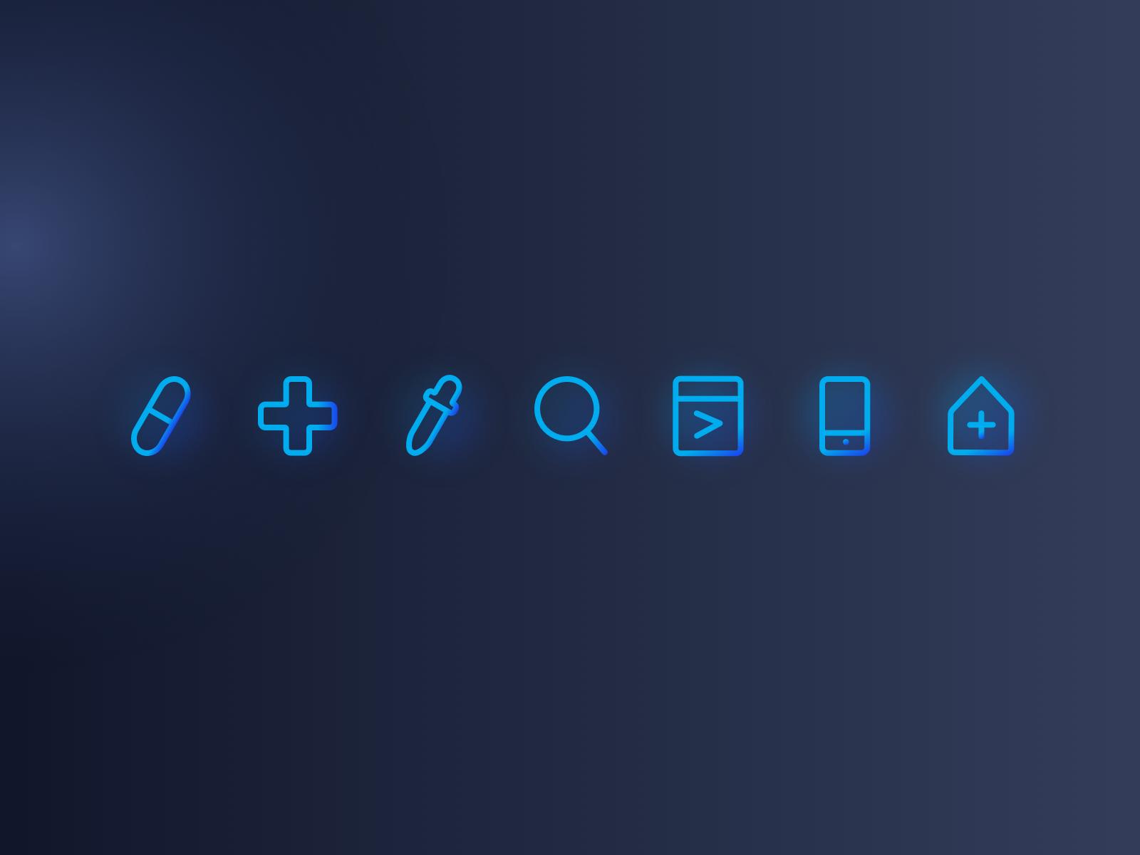 Mvc site dribble post flat icons