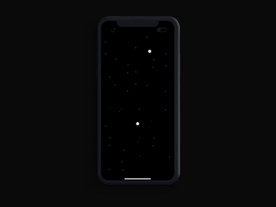 ½ Halfway - a gentle mobile puzzle game stress relief relax ux ui stroke line art black and white minimalist animation mobile google play android app store game art game design ios indie game mobile game game indie