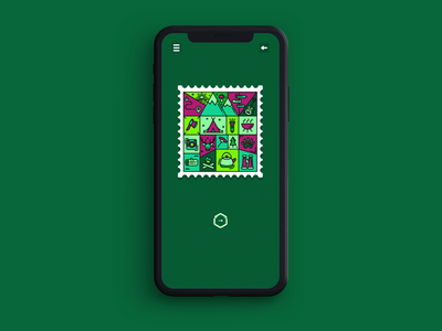 Memory Stamps - Camping Level axe guitar campfire zen relaxing woods outdoors nature forest camping iphone app mobile animation illustration app store game design game art ios game