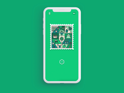 Memory Stamps - Gardening Level field agriculture garden nature green tree forest gardening app animation illustration google play android app store game design game art ios game