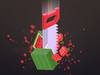 Knife Fruit Challenge - iOS and Android Game
