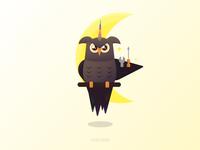 the unicorn OWL 🦉