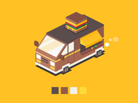 The burger van just came to town!