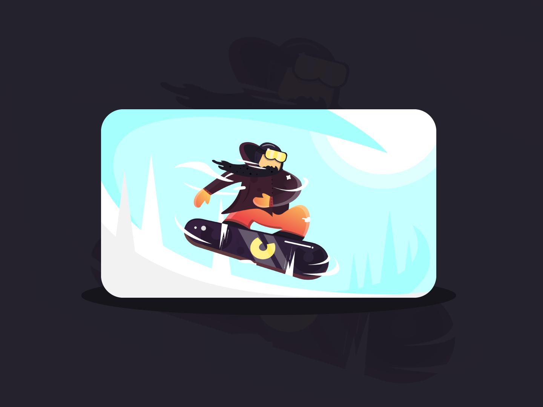 Snowboard Beard ice freeze cold extreme sport beard winter ski snowboard