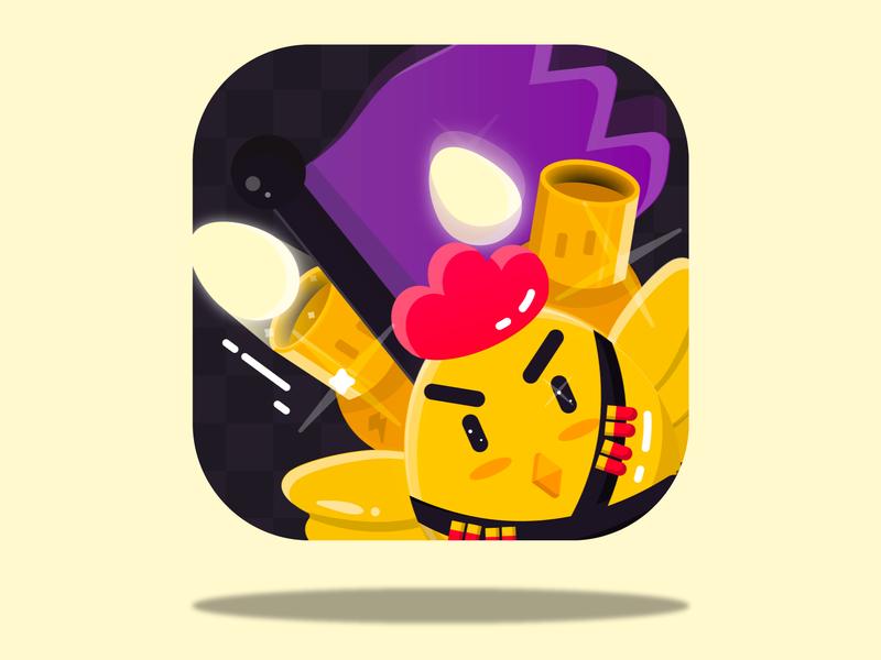 Eggxplode! App Icon mobile game game developer game design app game google play icon app store ios twitch