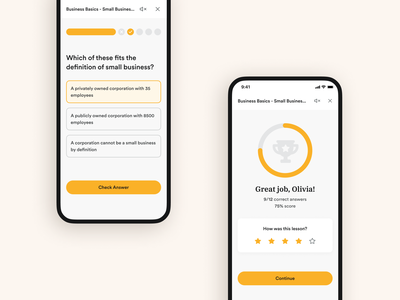 Acadium Courses Product Design e-learning art direction ux design rebrand yellow iphone mobile ui ux user experience education learning product design course lessons courses acadium