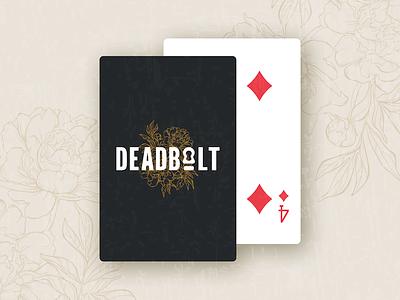 Deadbolt graphic design branding