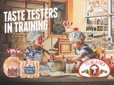 Turano Baking Co. Taste Testers In Training Billboard Campaign