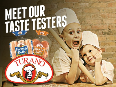 Turano Baking Co. Meet our Taste Testers Billboard Campaign