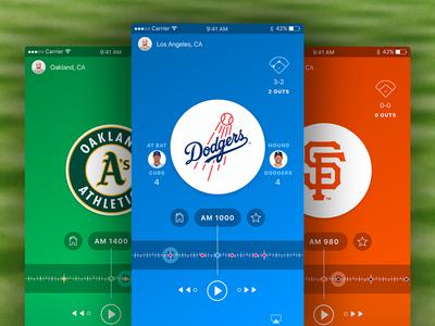 MLB Radio App