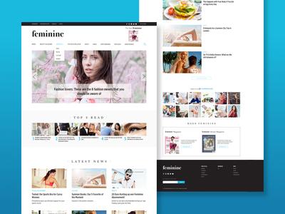 Clean Lifestyle Magazine Website