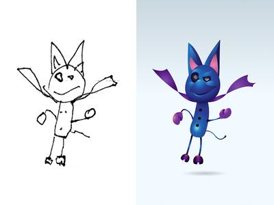 Happy Halloween Part 1! monster project illustration cartoon kids monster
