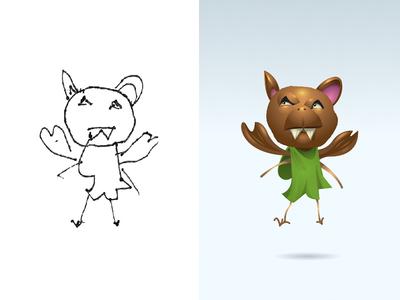 Happy Halloween Part 3! monster project illustration cartoon kids monster