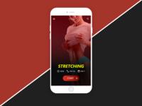 Daily UI #04 -  NoFat fitness app