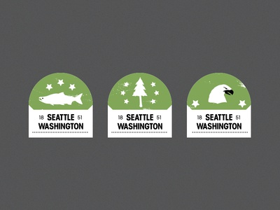 Seattle Patch Set patches seattle crests icons