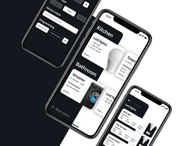 Smarthome app apple iphone11 iphonex iphone ios smarthome ux uiux ui mobile app design mobile design mobile app mobile ui mobile