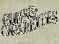 Guns & Cigarettes Vector