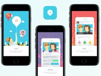 Hyperlocal Social App - Branding & UX Design