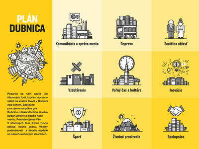 Plan Dubnica icons