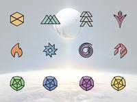 Destiny Icon Set
