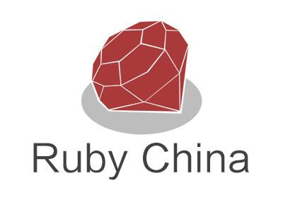 Ruby China logo logo ruby
