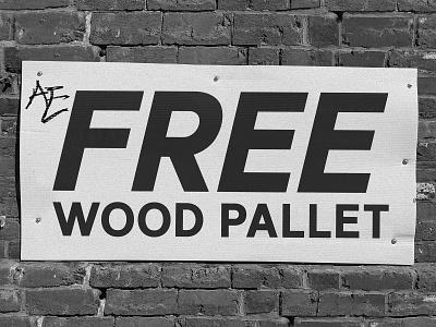 FREE WOOD wood pallet font typeface typogaphy type
