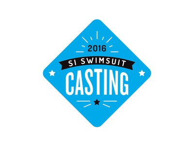 Sports Illustrated Swimsuit Casting Logo