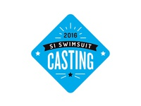 Sports Illustrated Swimsuit Casting Logo