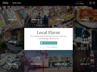 Local Flavor website