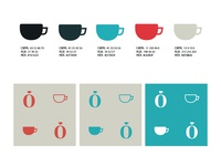 Pattern & Colors for Roffo coffeeshop