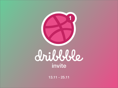 Dribbble Invite dribbble invite invite invite giveaway