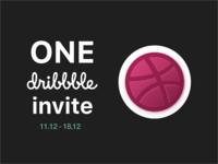 Dribbble Invite. One more