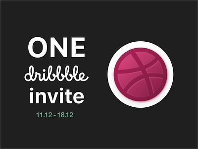 Dribbble Invite. One more invite invite giveaway dribbble invite dribbble