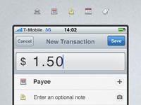 Add Transactions, Fast.