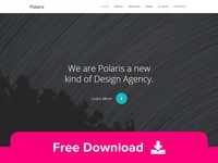 Polaris - Free One Page HTML Template
