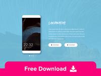 Landingstar - Free App Landing HTML Template
