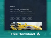 Free Download) Launch Coming Soon HTML Template by Template