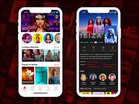 Netflix App Redesign