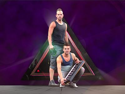 2Bouncerz' facebook cover promotional artwork djs dj deejay music