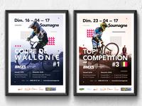 BMX Racing Poster Design