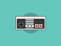 #DailyCSSImage - Nintendo Controller