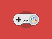 #DailyCSSImage - Super Nintendo Controller