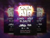 Open Air Poster