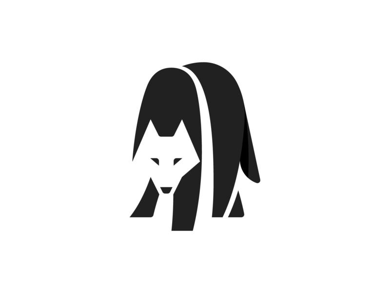 Wolf Logo By Ghitea Florin On Dribbble